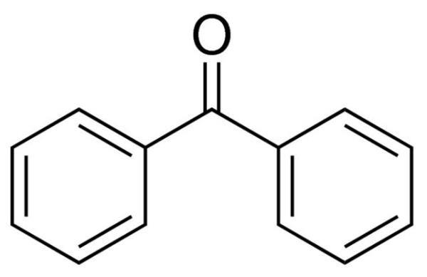 Benzofenona, CAS 119-61-9, Frasco com 250 gramas, mod.: 02991 (Neon)