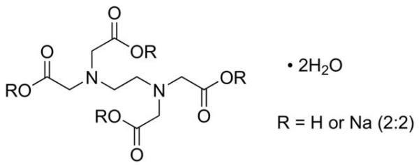 EDTA Sal Dissódico Dihidratado P.A., Frasco com 500 gramas, mod.: 01154-DSYS  (Neon)