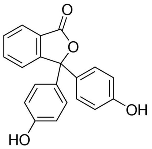 Fenolftaleína P.A., CAS 77-09-8, Frasco com 100 gramas, mod.: 01248 (Neon)