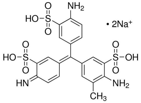Fucsina Ácida P.A. (CI.42685), Frasco com 25 gramas, mod.: 01436 (Neon)