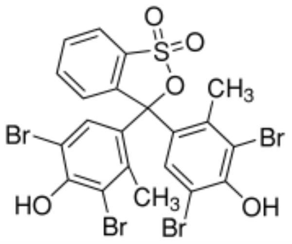 Verde de Bromocresol P.A./ACS, CAS 76-60-8, Frasco com 5 gramas, mod.: 02504 (Neon)