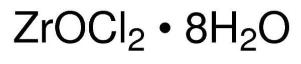 Oxicloreto de Zircônio IV Octahidratado P.A./ACS, CAS 13520-92-8, Frasco com 25 gramas, mod.: 03046-DSYS (Neon)