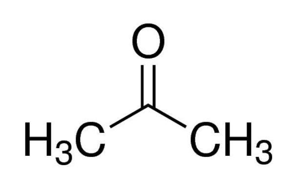 Acetona P.A., (PRODUTO CONTROLADO), Frasco com 1000 ml, mod.: 02595-DSYS (Neon)