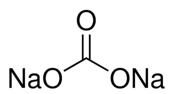 Carbonato de Sódio Anidro P.A., >= 99,5%, Frasco com 250 gramas, mod.: 00788 (Neon)