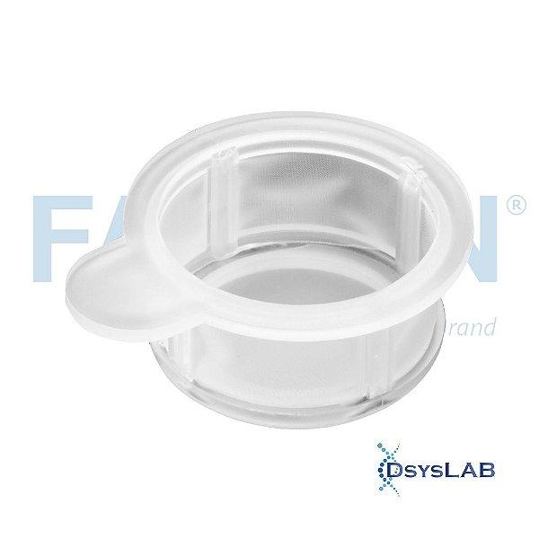 Filtro de célula 70 µm, branco, estéril, embalado individualmente, Caixa com 50 unidades 352350 (Falcon)