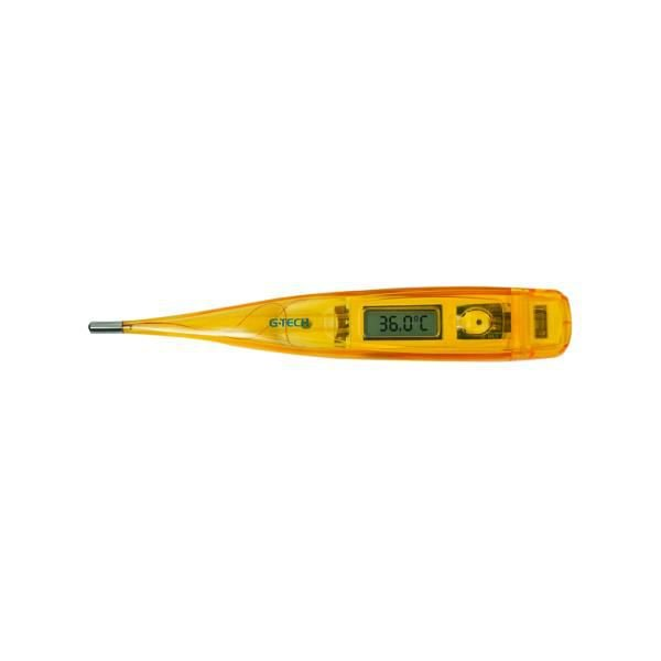 Termômetro digital ponta rígida, cor laranja, mod.: THGTH150L (G-Tech)