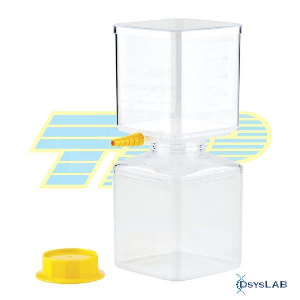 Sistema de filtração à vácuo 500mL, PS, membrana PES 0,22 uM, estéril, unitário, mod.: 99500-UND (TPP)