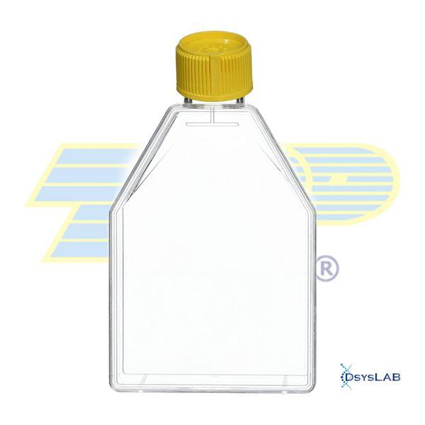 Frasco para cultura celular 115cm2 (100mL) com peel-off e barreira, com filtro, PS, caixa com 18 unidades, mod.: 90653 (TPP)