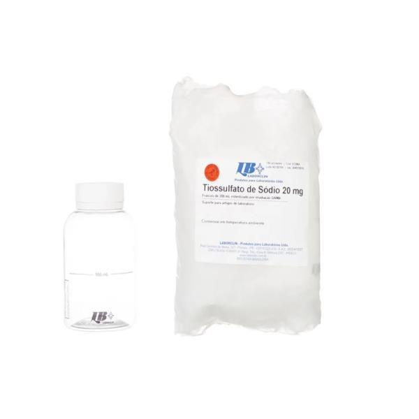 Tiossulfato de sódio 10mg, 150ml, estéril, Pacote com 10 frascos, mod.: 572006 (Laborclin)