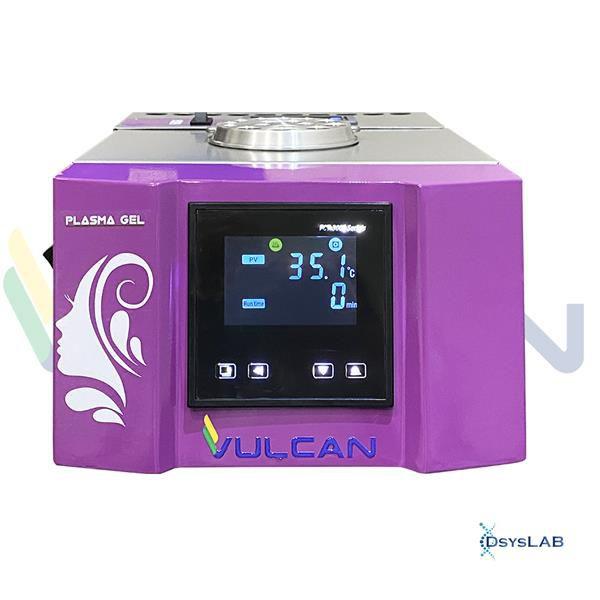 Incubadora plasma gel com aquecimento até 100ºC para 16 seringas, com bloco de resfriamento,bivolt PGAR-BI (Vulcan)