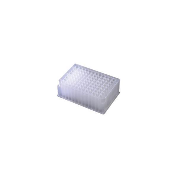 Placa de 96 Poços Profundos Redondos, Capacidade 2mL, Pacote com 5 unidades, mod.: P-DW-20-C-PCT (Axygen)