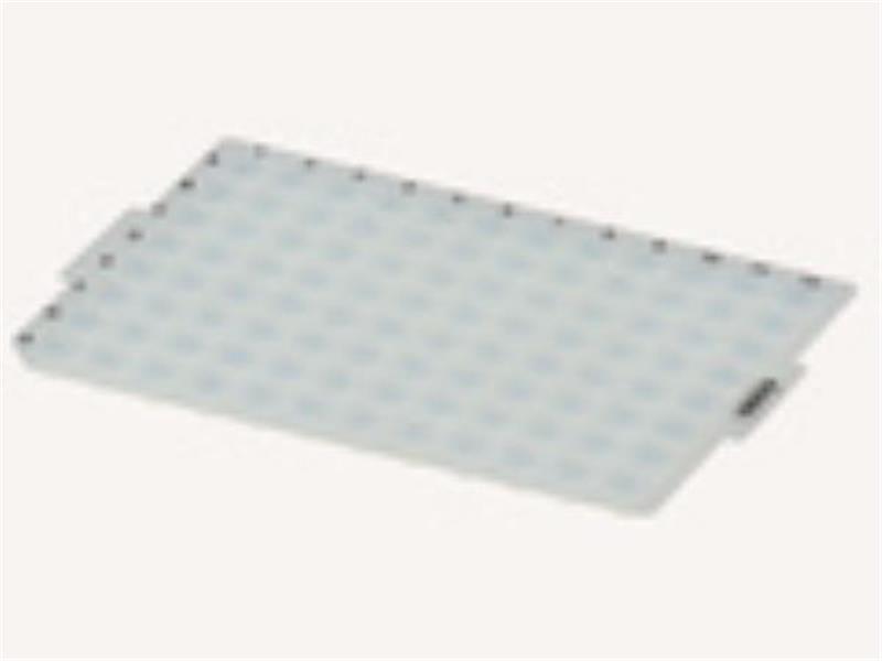 Borracha (Tapete) de Compressão em Silicone para Microplacas 96 Poços fundo redondo, pacote c/10 unidades. mod.: CM-96-RD-PCT (Axygen)