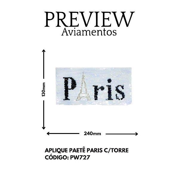 PATCH PARIS PAETÊ 130MMX240MM