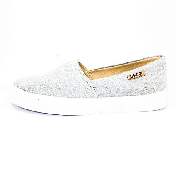 Tênis Slip On Quality Shoes Feminino 002 Mescla