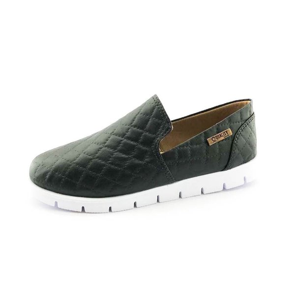 Tênis Tratorado Quality Shoes Feminino 004 Matelassê Preto