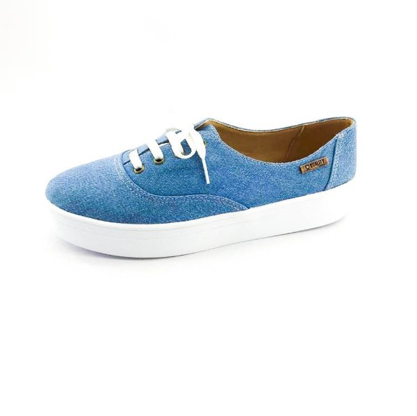 Tênis Flatform Quality Shoes Feminino 005 Jeans