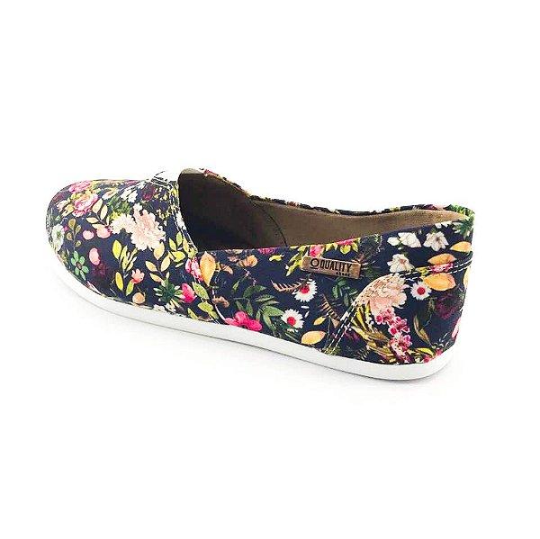 Alpargata Quality Shoes Feminina 001 Floral 200