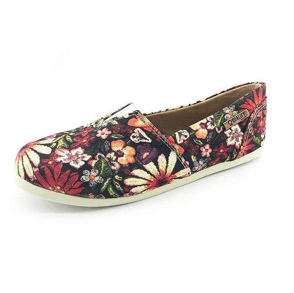 Alpargata Quality Shoes Feminina 001 Floral 796