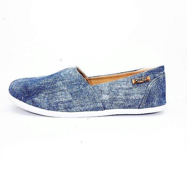 Alpargata Quality Shoes Feminina 001 Jeans