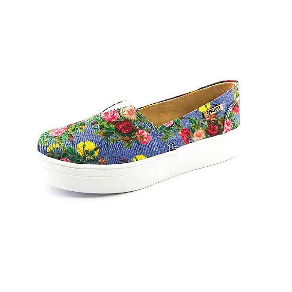 Tênis Flatform Quality Shoes Feminino 003 Foral 798