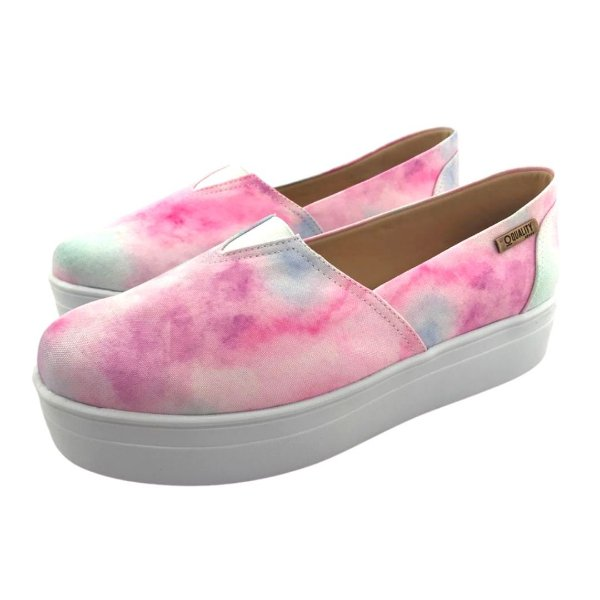 Tênis Flatform Quality Shoes 003 Tie Dye 02
