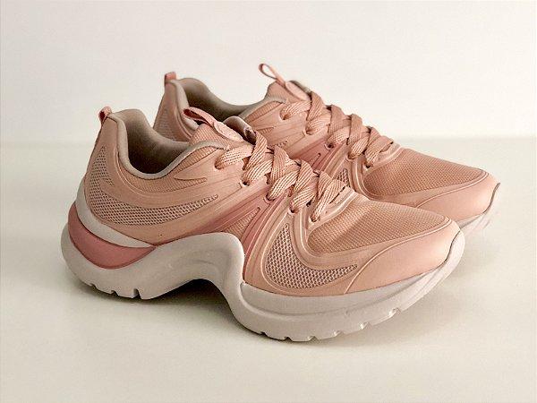Tênis Azaleia Dad Sneaker  - Rosa