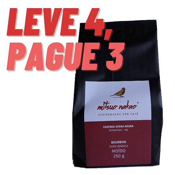 Café Mitsuo Nakao - Moído - 250 g - Leve 4, Pague 3.