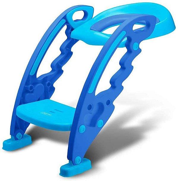 Redutor de Assento Infantil com Escada Azul, 18+m, Multikids