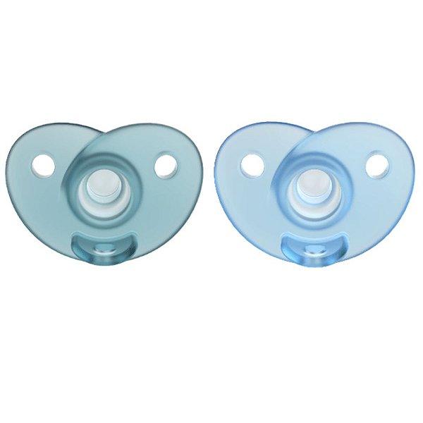Chupeta Soothie Azul Dupla 0-6m - Philips Avent