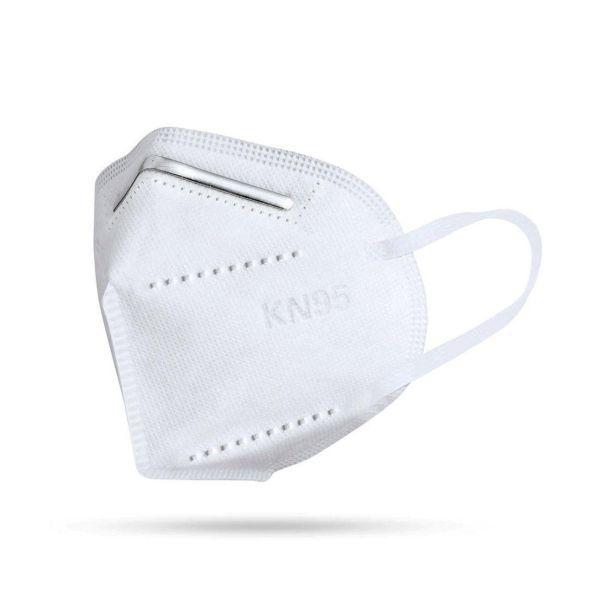 Kit 10 Máscaras Cirúrgicas PFF2 (5 Camadas) Branco, Medi Co.