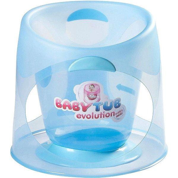 Banheira BabyTub Evolution Azul +0m