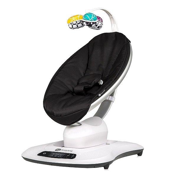 Cadeira de Descanso Mamaroo Clássica 4.0 9Kg Preta 4moms