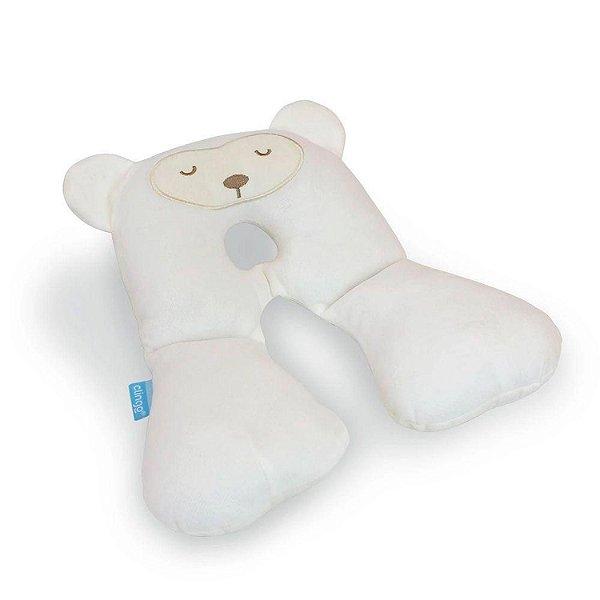 Protetor de Pescoço Infantil Urso +0m Branco Clingo