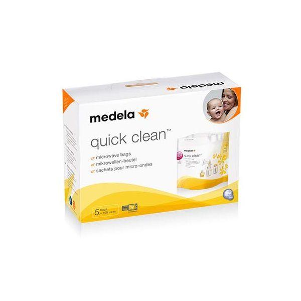 Saco Esterilizador De Microondas Quick Clean Medela - 5 Un.