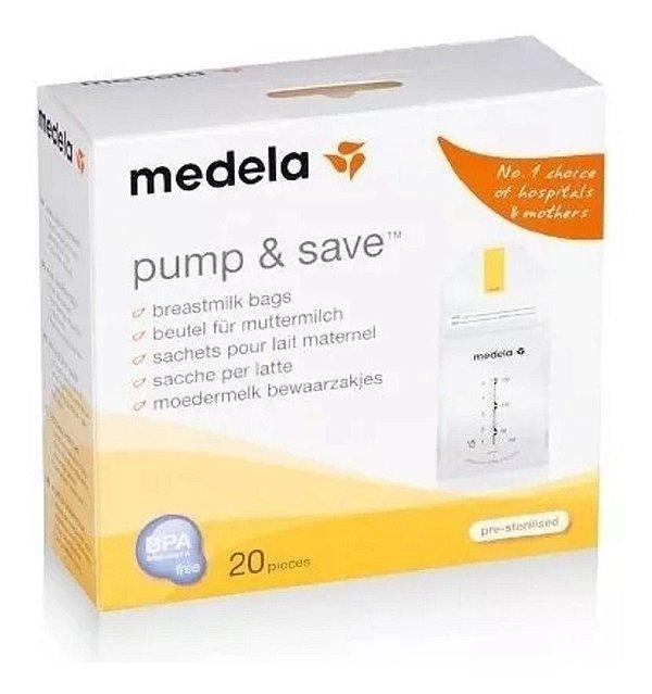 Sacos Coletar e Armazenar Leite Materno Pump & Save - Medela
