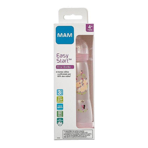 Mamadeira MAM Easy Start - 320Ml (4+ Meses) - Rosa