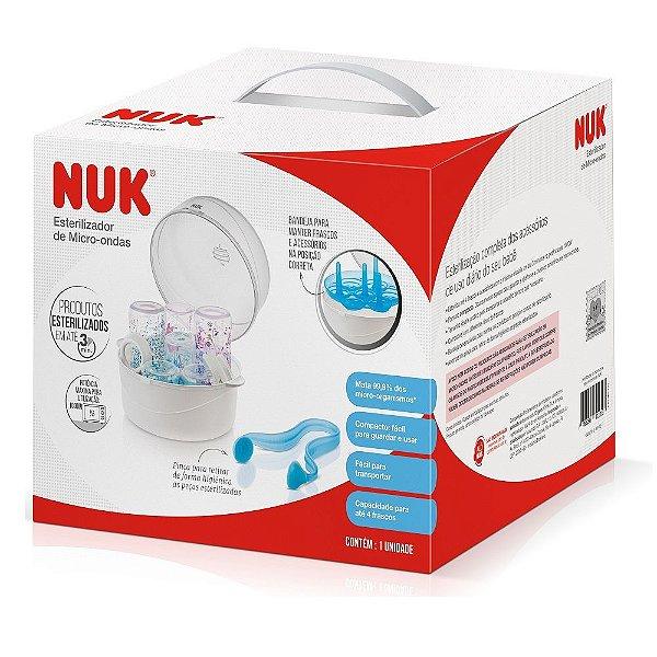Esterilizador de Mamadeiras para Micro-ondas - Nuk