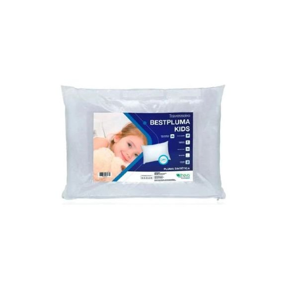 Travesseiro Infantil Bestpluma Kids 40X30