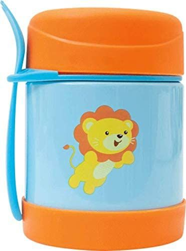 Pote Térmico Animal Fun - Leao 320ml, Colorido - Buba