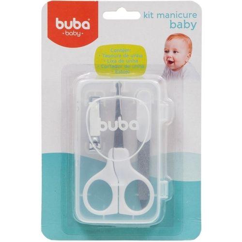 Kit Manicure Bebê - Tesoura e Cortador de Unha - Buba