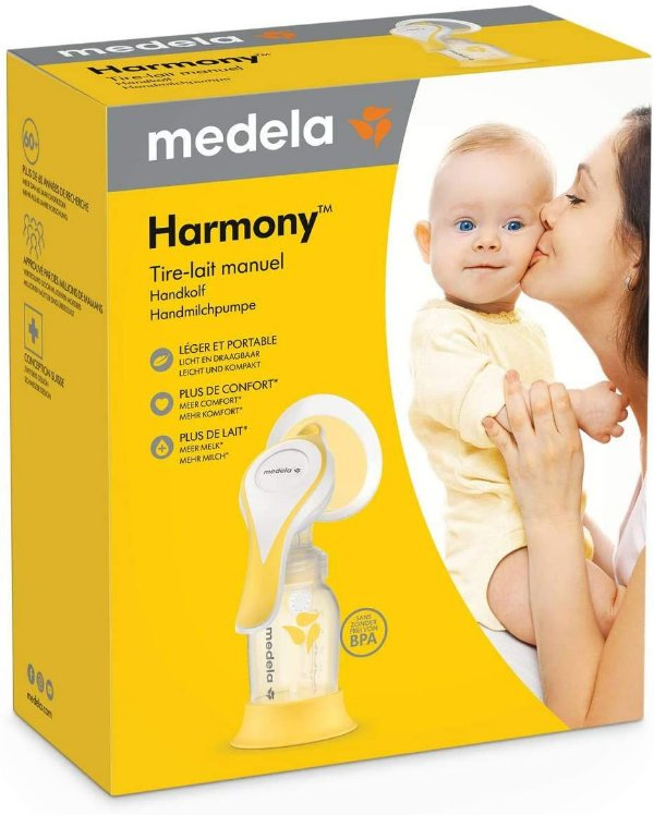 Extrator de Leite Materno Manual Harmony Flex, Medela
