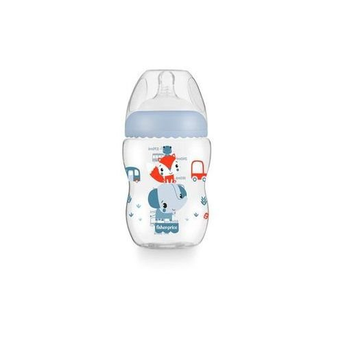 Mamadeira First Moments Azul Marshmallow 270Ml, Fisher-Price