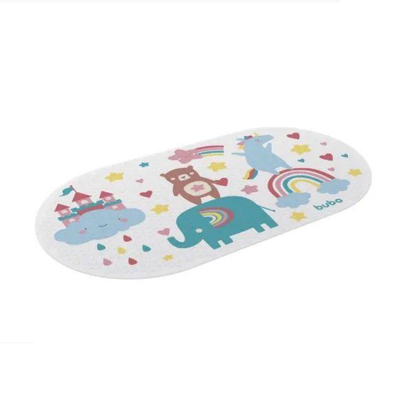 Tapete De Box Para Banho Infantil Arco Iris Buba