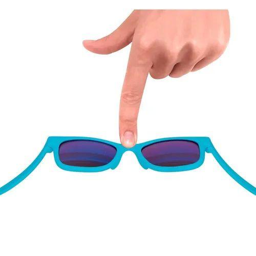 Óculos De Sol Para Bebê Buba com Lenço Azul, 0m+