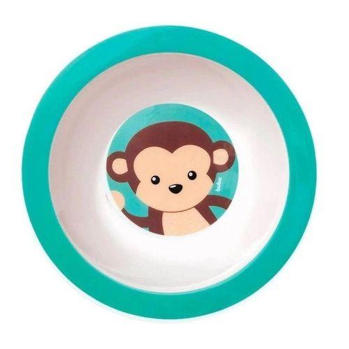 Pratinho de Bebê Bowl (Fundo), Animal Fun, 6m+, Macaco, Buba