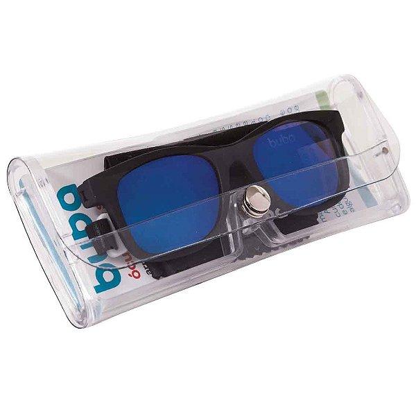 Óculos de Sol Infantil Preto Alça Ajustável - Buba