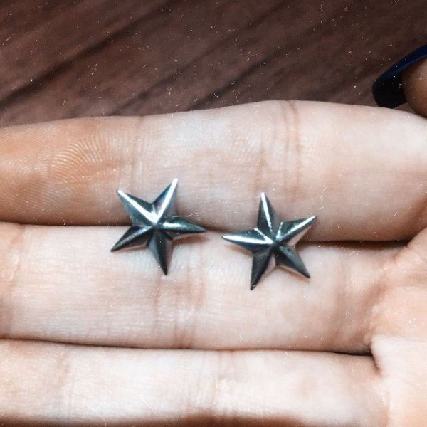 Brinco Star Aço