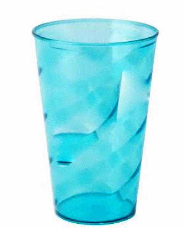 Copo Twister de 750 ml em Acrílico  Sem Estampa