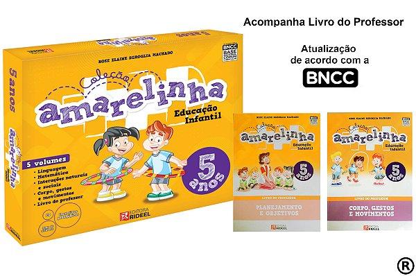 AMARELINHA – EDUCAÇÃO INFANTIL 5 ANOS