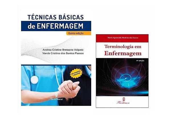 Kit Enfermagem: Técnicas Básicas De Enfermagem + Terminologia Em Enfermagem
